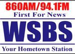 WSBS 94.1, 860 Logo