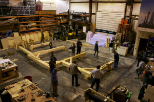 Timber Framing Crew!